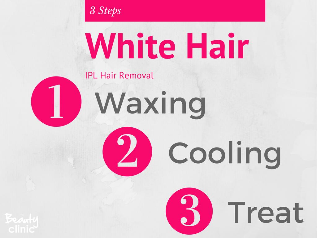 White & Grey Hair IPL Hair Removal