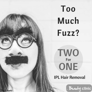 Two For One IPL Hair Removal
