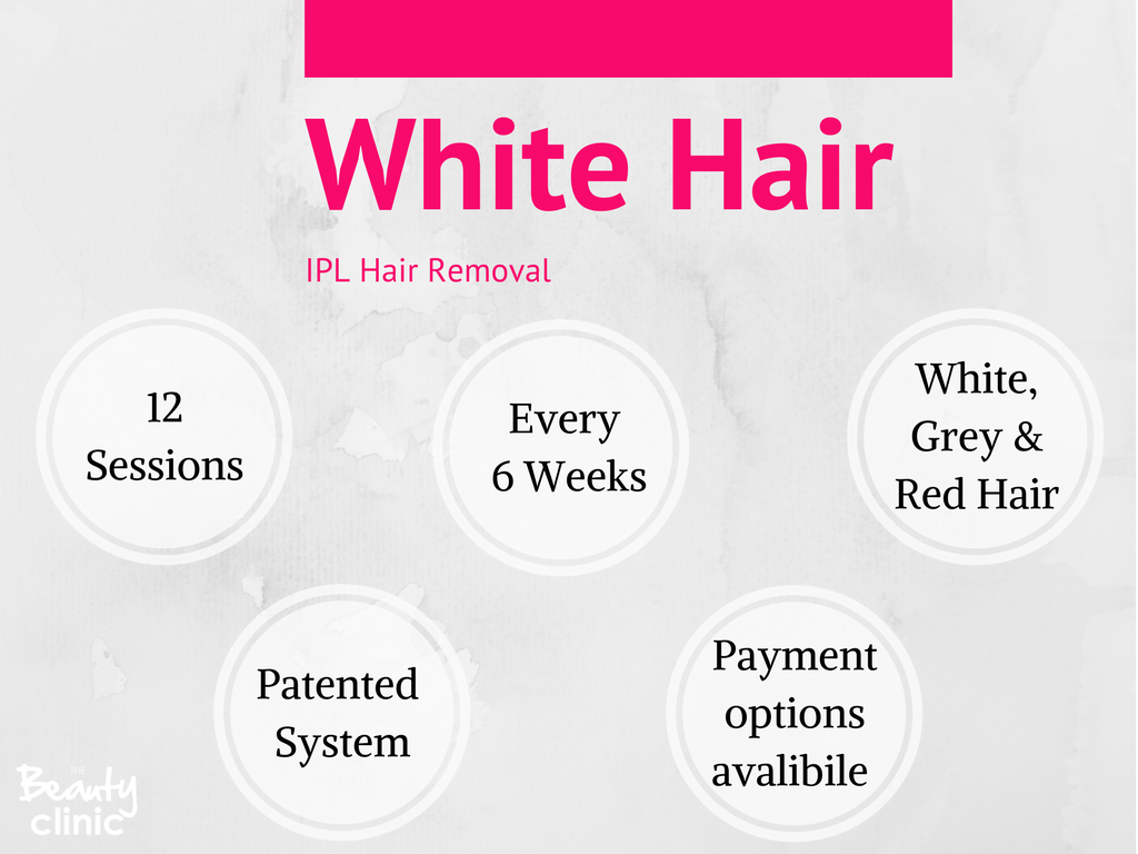 White & Grey Hair IPL Hair Removal