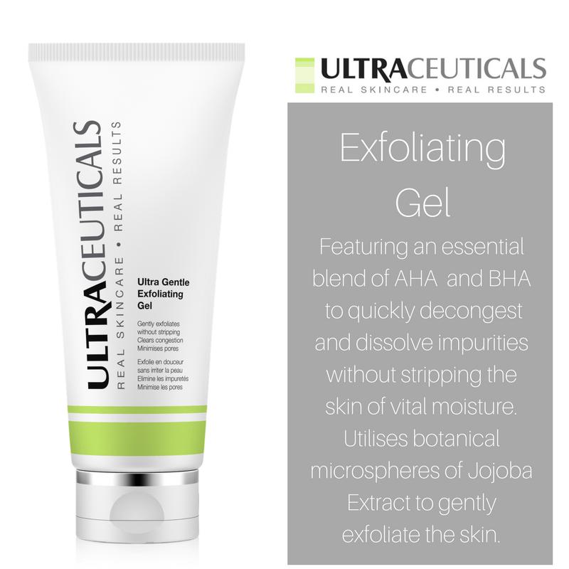 Ultraceuticals exfoliating gel