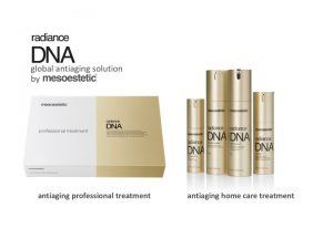 mesoestetic Radiance DNA Facial products global anti-aging