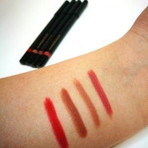 Eleanor dorn make up range lip liners