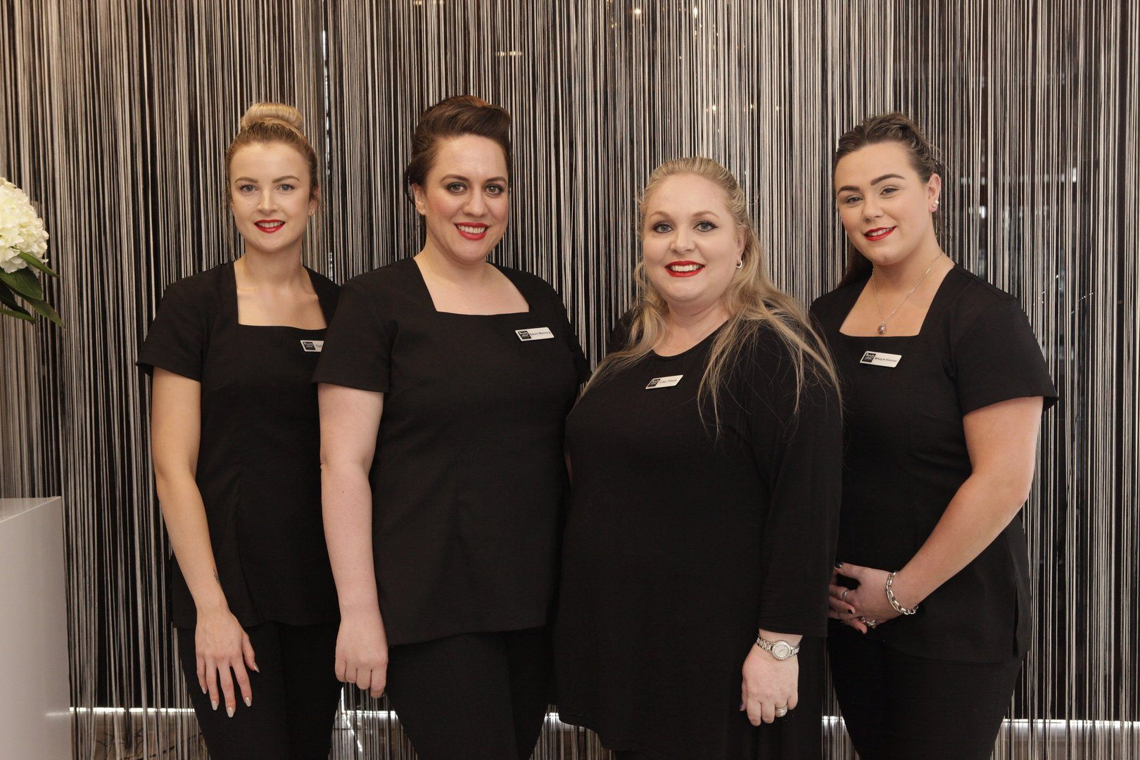 The Beauty Clinic Team - Teri, Naomi, Lisa Travis, Mikayla