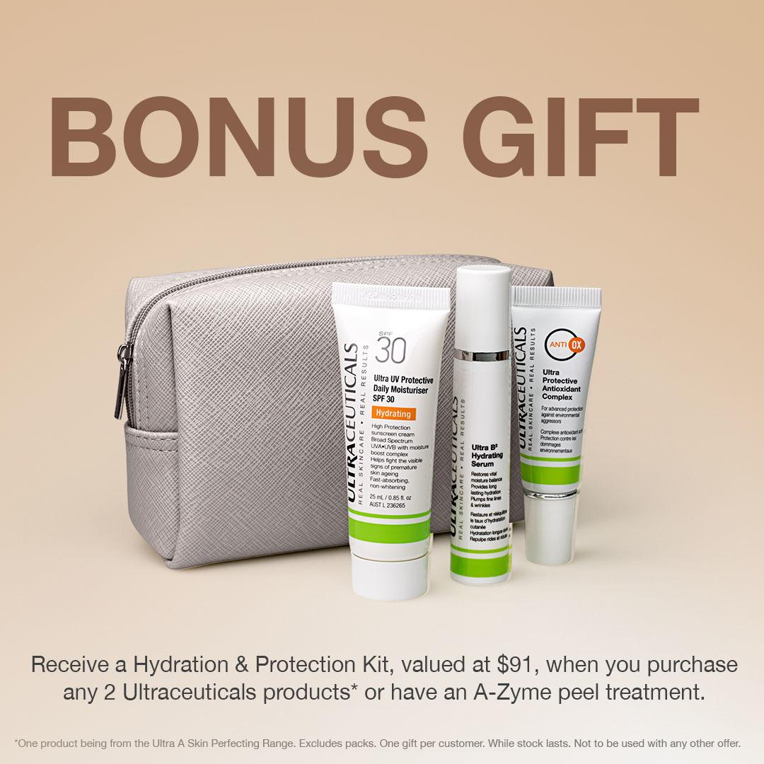 Ageless Beauty Bonus gift & Bag with A-Zyme NZ.